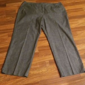 Gray Worthington Trousers Sz. 20W